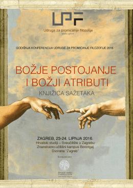 knjižicu sažetaka - Hrvatski studiji
