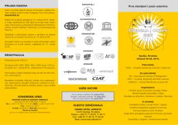 energija i okoliš 2016 - Hrvatski savez za sunčevu energiju