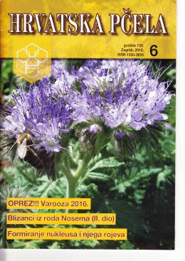 zdravlje pčela i održivo oprašivanje