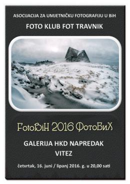 Katalog FotoBiH Vitez 2016