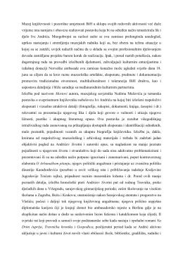 Muzej književnosti i pozorišne umjetnosti BiH u sklopu svojih
