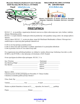 PRISTUPNICA U PDF-u - mile high islamic center