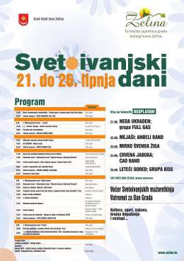 Program - Grad Sveti Ivan Zelina