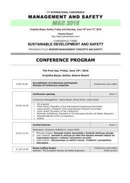 MS-2016_Conference Program