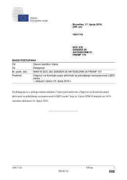 10417/16 VP/mr 1 DG B 3A Za delegacije se u prilogu