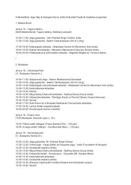 IDY és GDF_részletes program