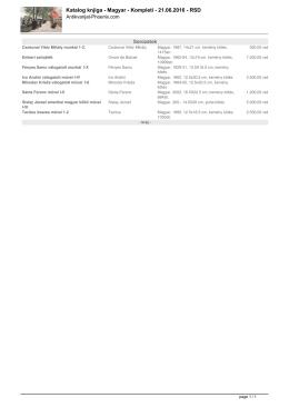 Katalog knjiga - Antikvarijat