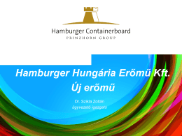 Hamburger Hungária Erőmű