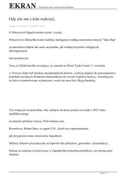 zachowaj artykuł - Zbigniew Jacniacki