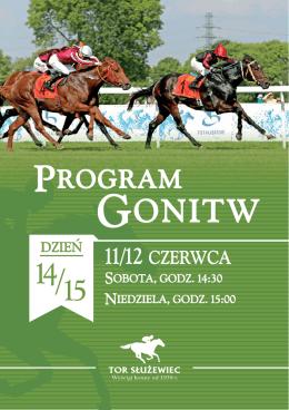 Program Gonitw na 11-12.06