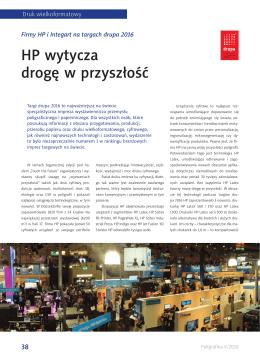 HP wytycza drogę w przyszłość
