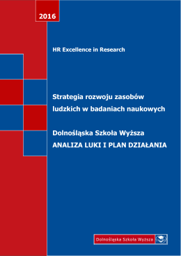 The Human Resources Strategy for Researchers University of Lower