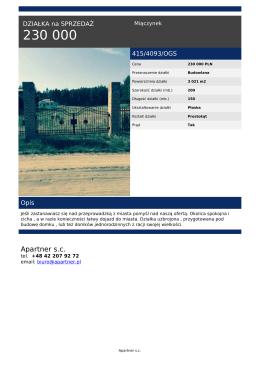 Apartner sc - apartner.pl
