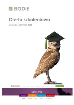 Oferta edukacyjna I