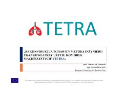 Tetra – realizowany projekt H2020