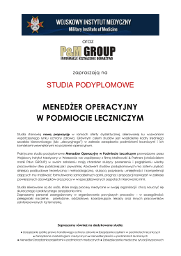 ulotka - P&M GROUP