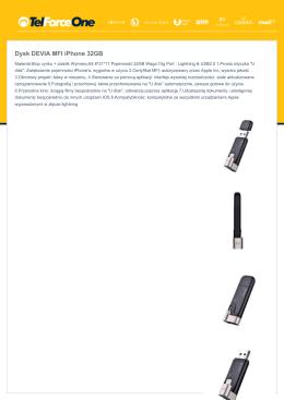 Dysk DEVIA MFI iPhone 32GB