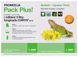 Ulotka Butisan+Iguana Pack