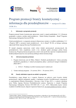BPP kosmetyka wersja II z 14.06.09