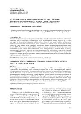 PDF, 1.09 MB - Inżynieria Ekologiczna