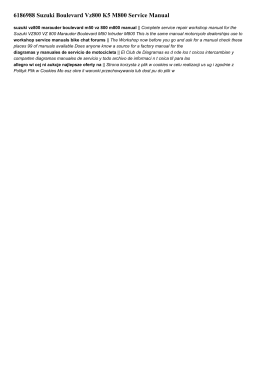 6186988 suzuki boulevard vz800 k5 m800 service manual