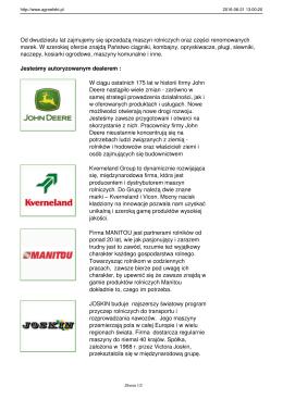Maszyny rolnicze i części - AGRO EFEKT
