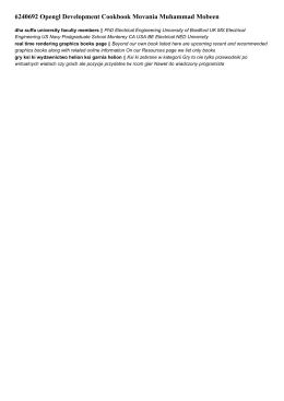 6240692 opengl development cookbook movania muhammad