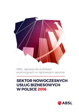sektor nowoczesnych usług biznesowych w polsce 2016