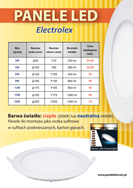 Electrolex - paneleled.com.pl
