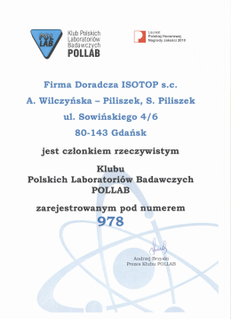 pollab - Firma Doradcza ISOTOP sc