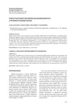 PDF, 708.19 kB - Inżynieria Ekologiczna