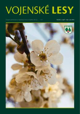 2016 - Apríl / Máj / Jún - Vojenské lesy a majetky SR, š.p.
