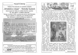 Solún 24/2016 - Gréckokatolícka farnosť Trebišov
