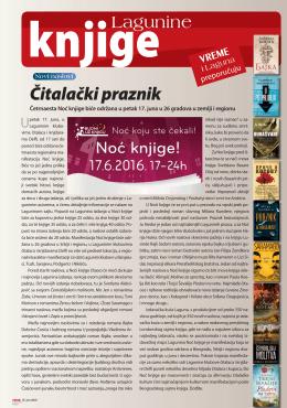 Lagunine knjige, Vreme 1328, 16. jun 2016.