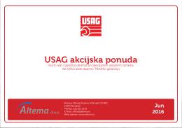 USAG akcijska ponuda