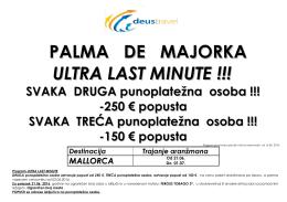 palma de majorka ultra last minute