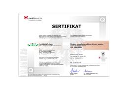ISO 14001 - Kamenolom Ostreš – Kamen visokog kvaliteta
