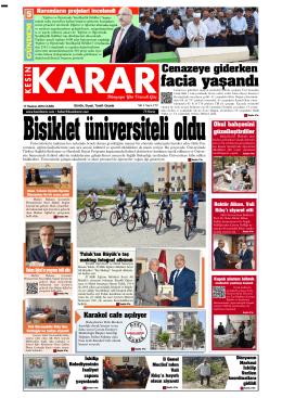 17 Haziran 2016 - Kesin Karar Gazetesi