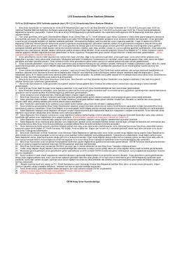 LYS Sınavlarında Görev Alanların Dikkatine