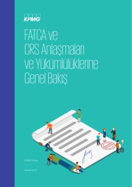 FATCA ve CRS Anlaşmaları ve Yükümlülüklerine Genel Bakış
