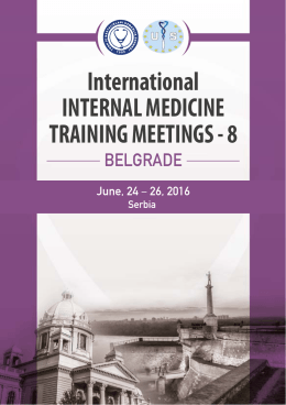 International INTERNAL MEDICINE TRAINING MEETINGS