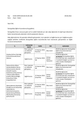 VeliMektubu2016 - Darüşşafaka Eğitim Kurumları