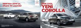 Corolla 2016 Presales Katalog
