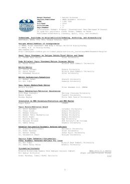 İndeksleme, Arşivleme ve Erişilebilirlik/Indexing