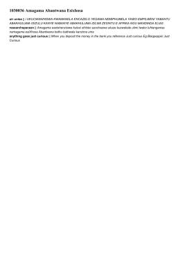 1030036 amagama abantwana esixhosa