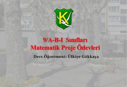 matematik sergisi - Kadıköy Anadolu Lisesi