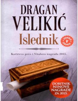 Dragan Velikić – Islednik