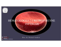 Hematologija 2 - Fakultet veterinarske medicine Beograd