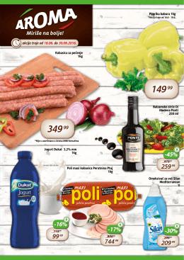 Akcijski Katalog Jun 2 - Aroma marketi | Miriše na Bolje!