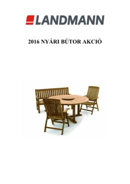 Landmann 2016 nyári bútor akció